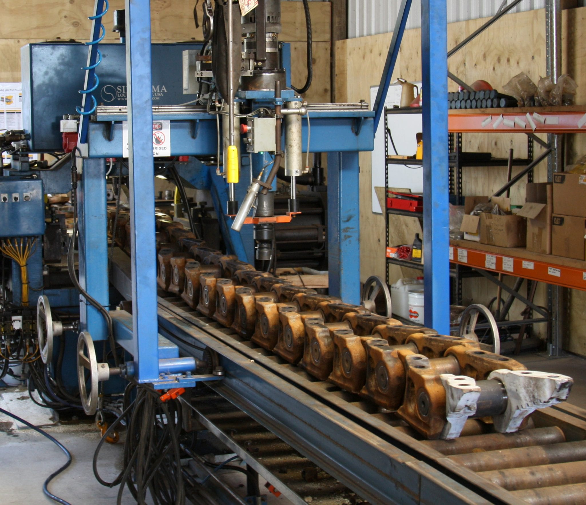 D10T Dozer Chain Rebuild | West-Trak New Zealand