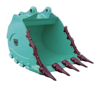 Rock Bucket 2.1m3 Kobelco SK500LC-9