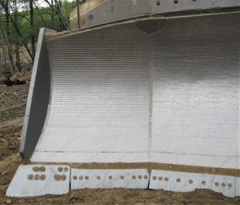 Dozer Blade Liner Chromium Carbide 10mm