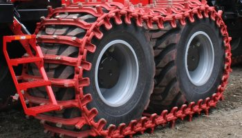Bogie Wheel Tyre Tracks