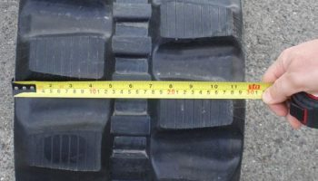 How to Measure a Rubber Track
