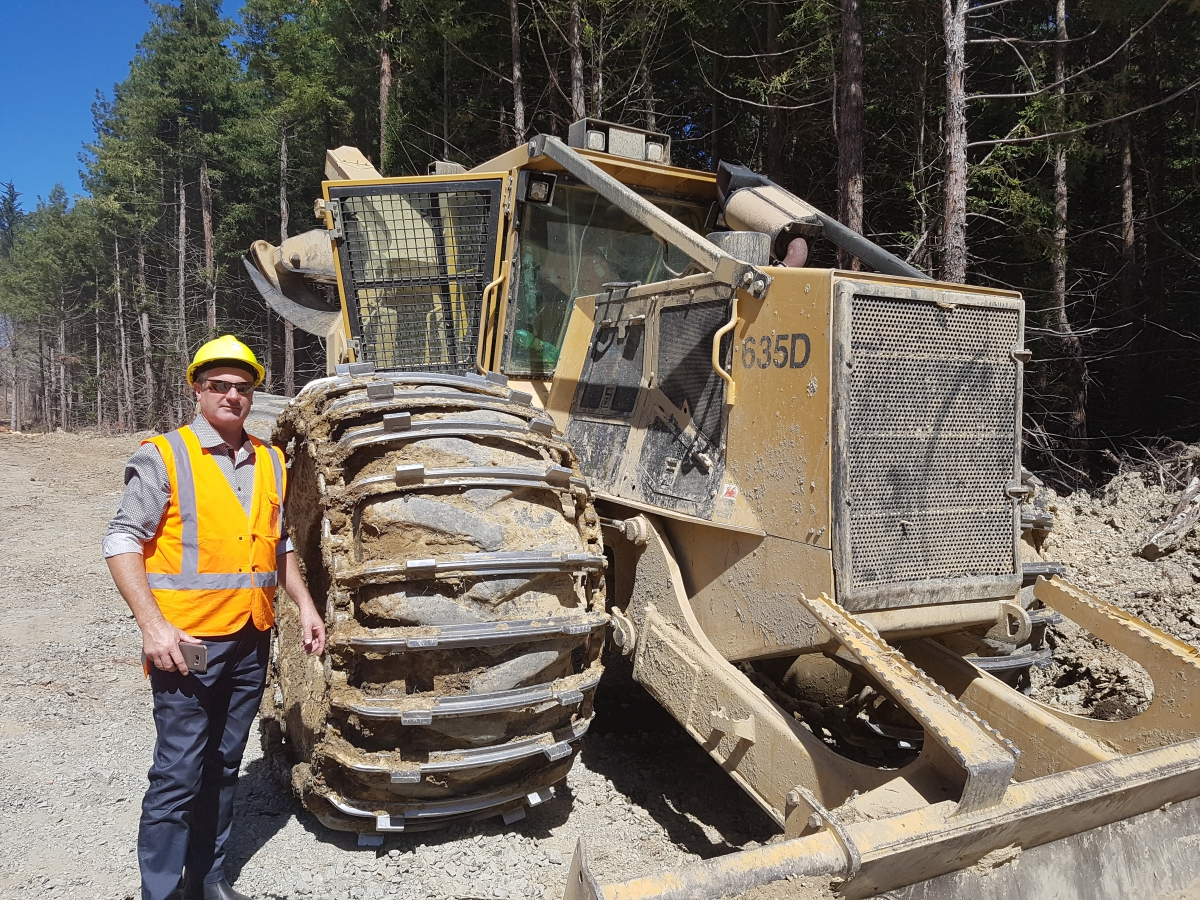 Need more Skidder traction? | West-Trak New Zealand
